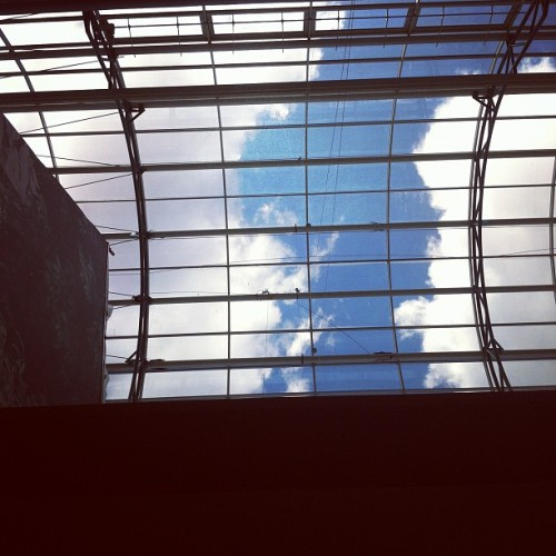 #shoppingmall #mall #sweden #clouds #sky  (Taken with instagram)