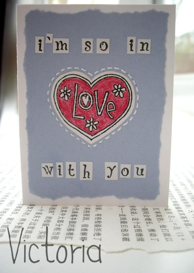 just a little card :)