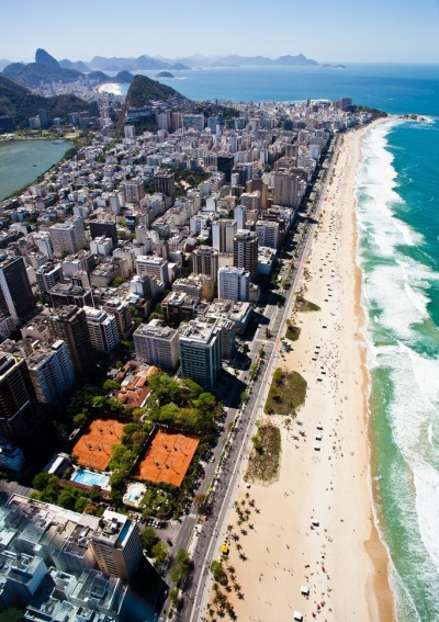Rio coming up Rio de Janeiro, known for its beautiful beaches and hard bodies, will come into itsown as a truly global city when it hosts upcoming international events, including the 2012 Rio +20 Conference, the 2014 FIFA World Cup and the 2016 Olympic Games.