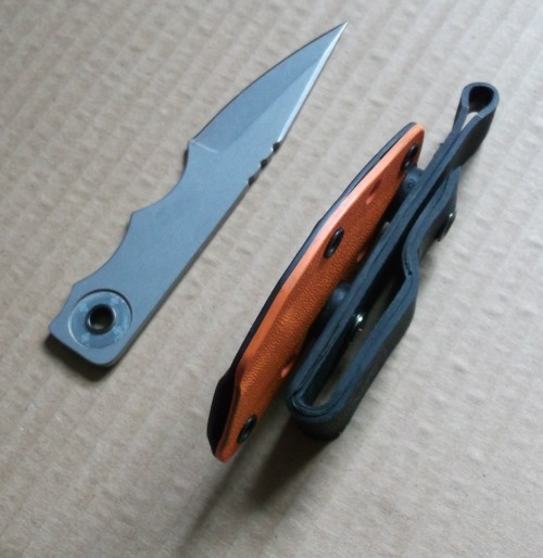 salamander-sss:  Hanger KLiP with LDK (Last Ditch Knife & SOLAS Sheath) - SAR Global Tool