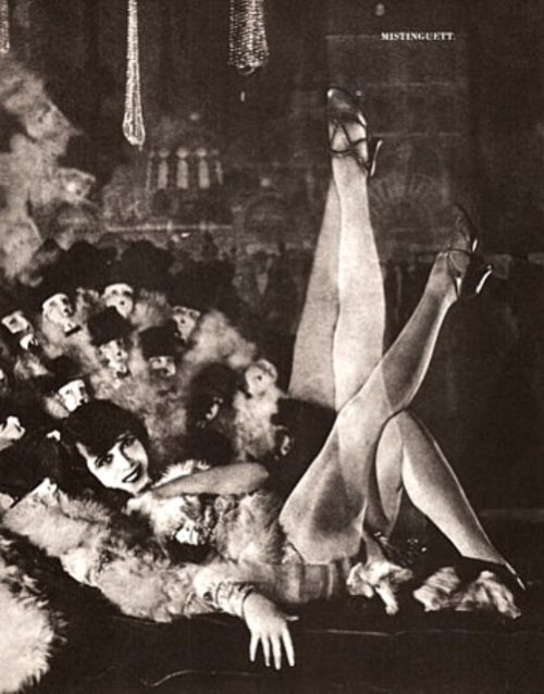 Mistinguett, queen of the French music hall