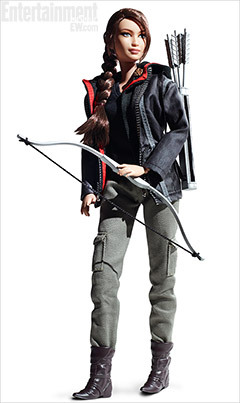 entertainmentweekly:  That's right — there is now a Katniss Barbie doll. And if anyone messes with Skipper, she is gonna be pissed.