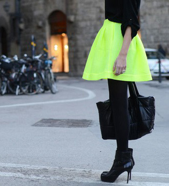 wgsn:  Neon is in the air… just when we thought it was all over and done with! Check out WGSN's report on Winter Neons by clicking here.  So true! Neon is still here, but is it here to stay? ~Batzion