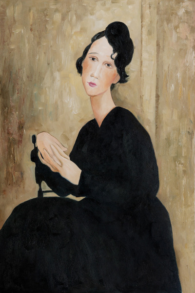 #art, #paintings, #oil_painting, #modigliani