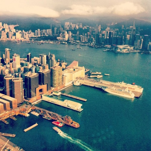 View from the world's 4th tallest building. (Taken with Instagram at Sky 100)