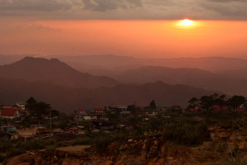 Summer Sunset in IrisanBaguio, Philippines