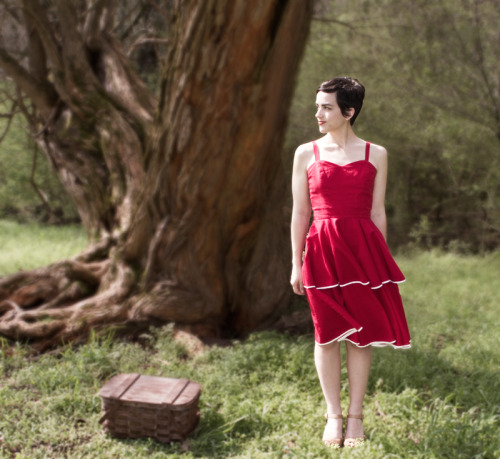 I've just debuted my first handmade collection! The dress seen here is The Bardot Dress. More here