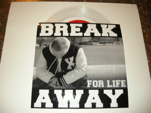 10 more copies Break Away - For Life have been added to the store on clear and black http://ltlrecs.storenvy.com