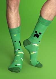 I need these Minecraft socks!!