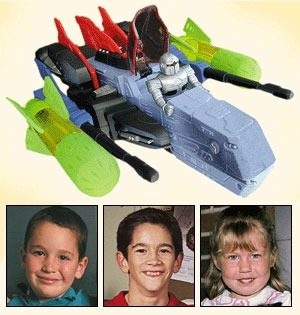 "theonion:  Fun Toy Banned Because Of Three Stupid Dead Kids  ""The tragedy is inconceivable,"" Wizco president Alvin Cassidy said. ""For years, countless children played with the Aqua Assault RoboFighter without incident. But then these three retards come along and somehow find a way to get themselves killed. So now we have to do a full recall and halt production on what was a really awesome toy. What a waste.""  More."
