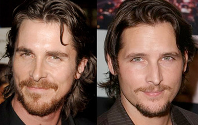 Doppelganger Alert Christian Bale and Peter Facinelli