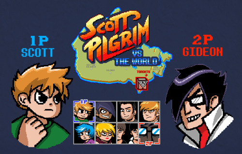 "Please vote 5 for ""Super EX Fighter"" over at Mighty Fine's Scott Pilgrim T-shirt contest! :)Thank you!"