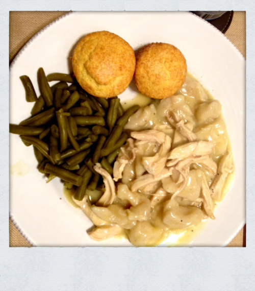 I attempted Chicken and Dumplings this weekend and succeeded! It was so, so easy… (via Lovely At Your Side: New York Wife Makes Southern Husband Chicken n' Dumplin's)