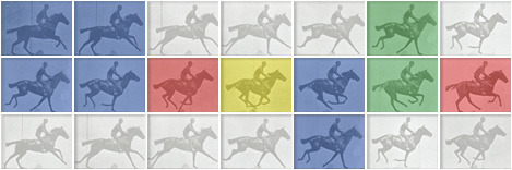 182nd birthday of photographer Eadweard Muybridge (via Google)