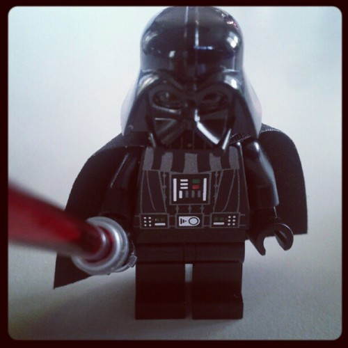 Darth on a good day… (Taken with instagram)