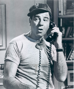 "In the 1960s Walter Matthau played sloppy sportswriter Oscar Madison in ""The Odd Couple"" on both stage and big screen. And, the Mets were Amazin'.  nedhepburn:  Gpoy"