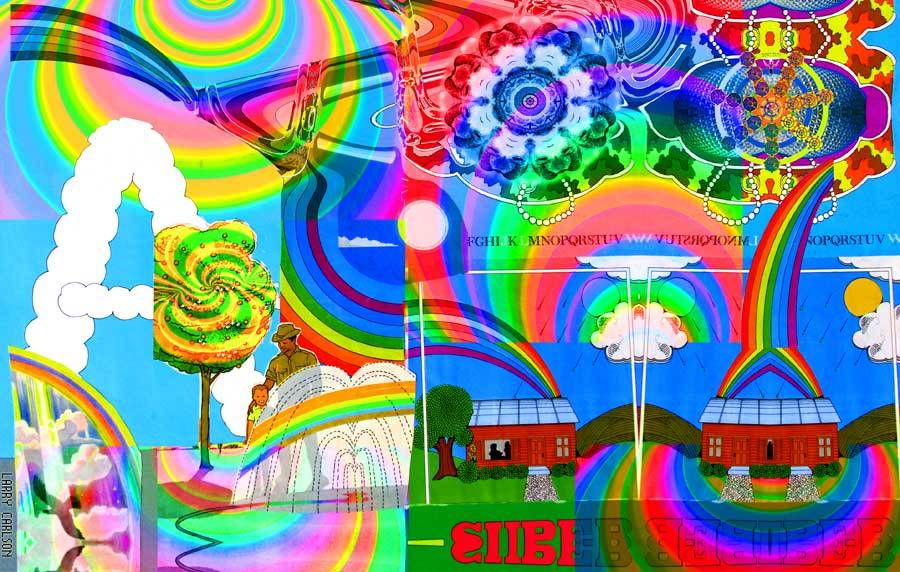 Larry Carlson, Super A, digital chromogenic print, 14x10in., 2004.