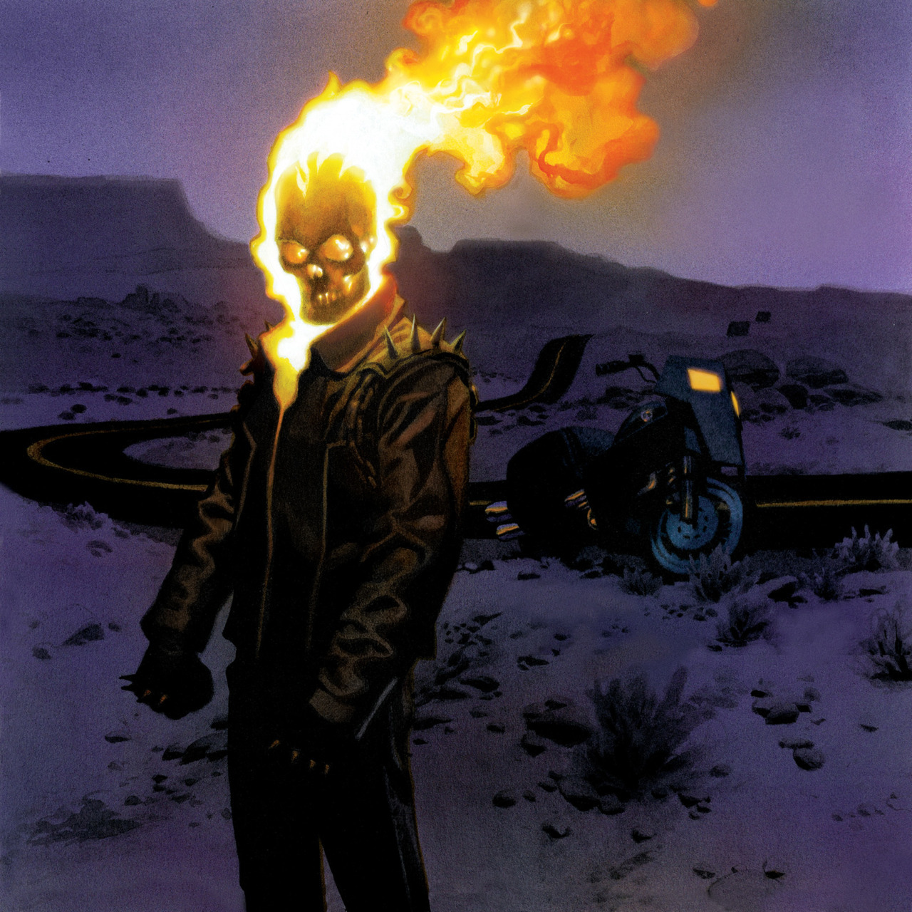 Ghost Rider by Andrew Robinson