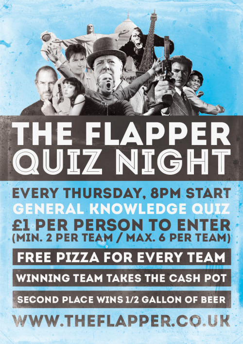 Quiz poster for The Flapper