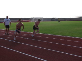 "After Aerobic runs add cool-down sprints to part of your post-run recovery. Sprints are helpful for conditioning yourself for race finishes, increase endurance, and shorten recovery times which is beneficial between interval or repeat sets.   ""Six sessions of 30 second, all-out sprints over a two week period resulted in a doubling of endurance time to exhaustion and an impressive increase in muscle oxidative potential."""