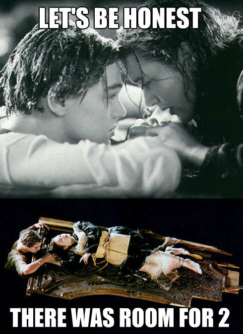 "buzzfeed:  What still bothers us about ""Titanic"" the most."