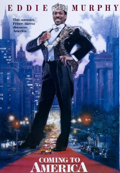 "gazellefamily:  COMING TO AMERICA (1988)""Even if you hate E.Murph's last 45 movies (who doesn't???) no one can deny that this was almost a work of genius. It makes my soul glow everytime I watch it. My favorite character is the barber Arsenio played who's always eating takeout. Did Arsenio use ALL of his talent in four months of filming this movie? Was it like how Bruce Lee used all of his Chi and died?""-Danny Gazelle   I agree with everything."
