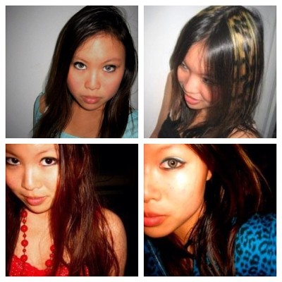Images of younger me. Oh the days of colored contacts & leopard hair lol. #photoadayapril #hair #style (Taken with instagram)