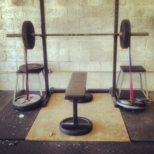 Resistance #crossfit #strength #press (Taken with instagram)