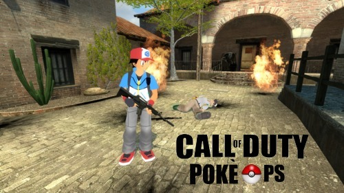 "fyfps:  CALL OF DUTY: POKE OPS Your peaceful life is destroyed by the power strain of war. Professor Elm is captured in a Russian AC-130 attack and one of his prized Pokemon are stolen. Combat the Russians and recruit Pokemon to your cause. It's your mission ""to be the very best like no one ever was"". Battle across 14 unique levels on your hunt for vengeance.  251 unique Pokemon to recruit. 3D!!! A brand new region to explore. Oh shit the Russian president has been kidnapped. Playable on DS, 3DS and Gameboy!!!!!11!!!!11! Available Holiday 2014!!!!!!!!!!!!!!!!!!!!!!!!  GOD DAMN NOOBS KEEP USING VOLTORBS"
