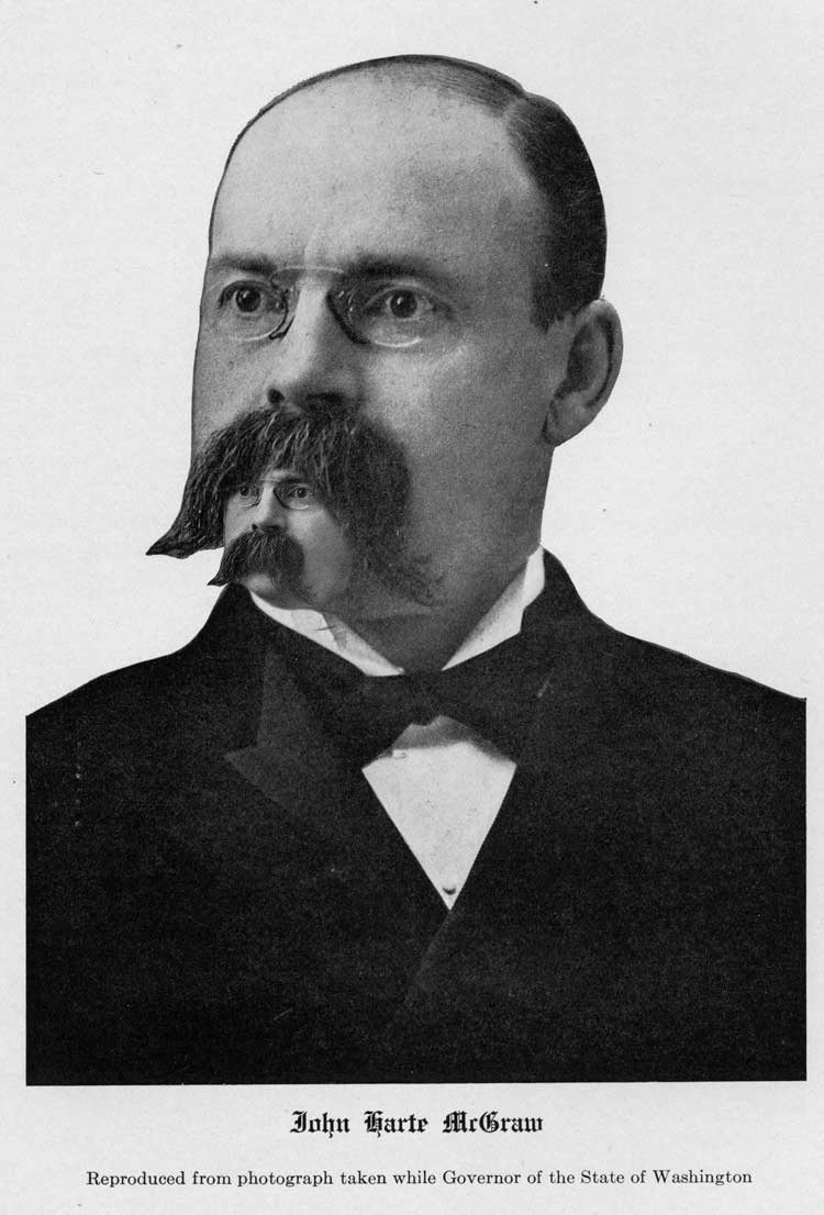Governor John Harte McGraw Moustair