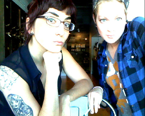 Overexposed at Dilworth coffee. I love that this girl is in my life.