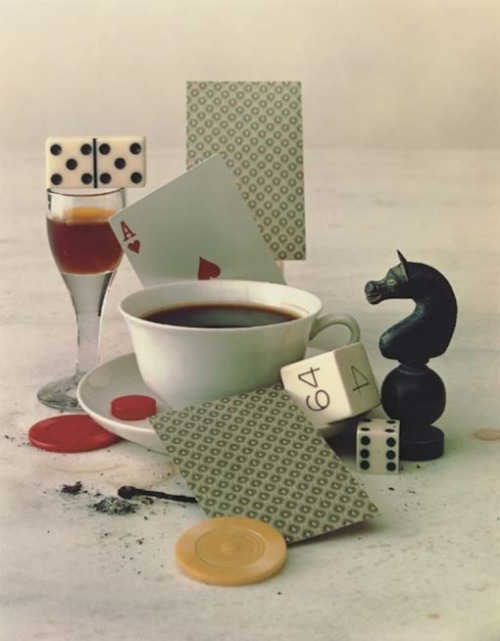 hoodoothatvoodoo:  Irving Penn, After Dinner Games, 1947