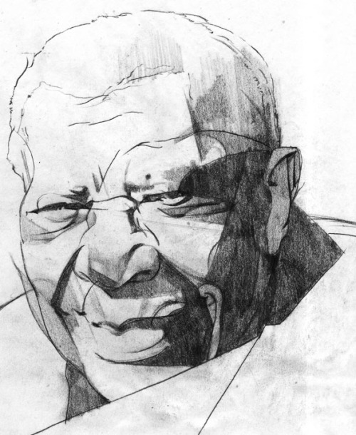 soapaddiction:  BB King study created for Rolling Stone magazine. Artist: Sterling Hundley
