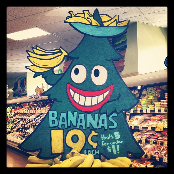 That shit's BANANAS, @mikeyk! :) (Taken with instagram)