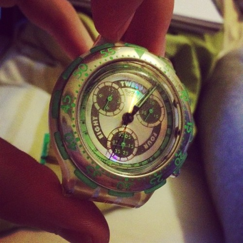 Who said watches ain't cool.  (Taken with instagram)