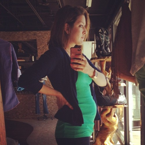 16 week bump :)  (Taken with instagram)