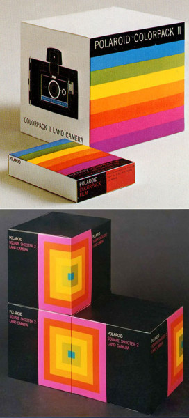 polaroid branding via @plentyofcolour
