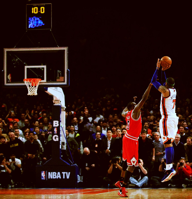 freshhnba:  Melo for the Win..  Melo