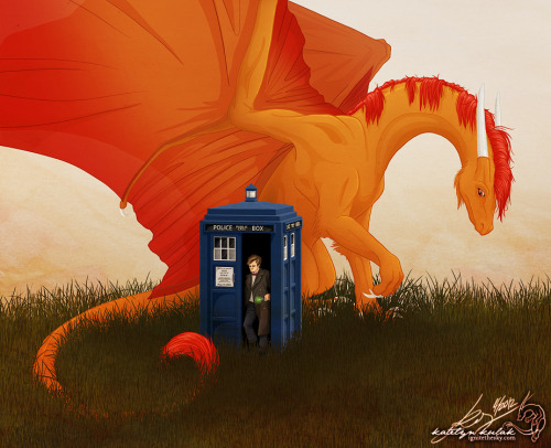 ignitethesky:  The Doctor should travel to some planet with dragons. (I was inspired by Pickles' and Lettie's livestreams for this one.)