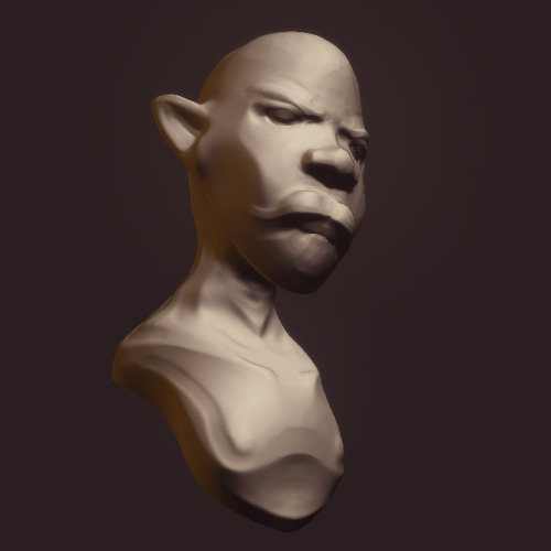 WAZ UP! 7 min zbrush sculpt -Hawk