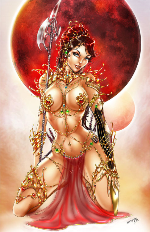 Dejah Thoris Princess of Mars from the Warlords of Mars