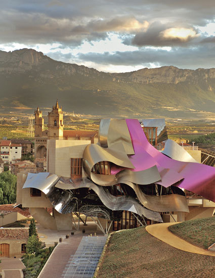condenasttraveler:  The New Wonders of the World | Frank Gehry's Hotel Marqués De Riscal, in La Rioja, Spain