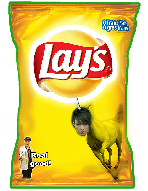 LMFAO omg frito lay really needs to put this shit on their bags!! LOL