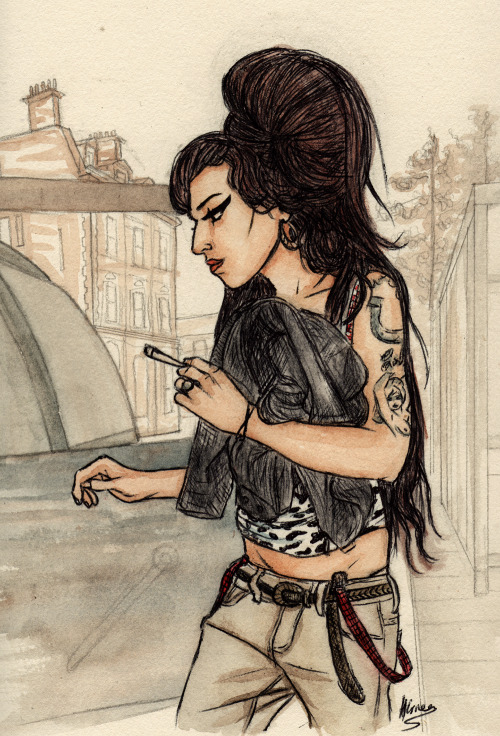 dollychops:  Amy Winehouse (requested)