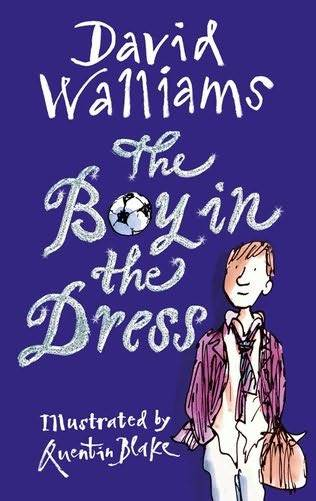 I've been wanting to get this book. David Walliams writing a children's story book is soooo wrong but right within this context.