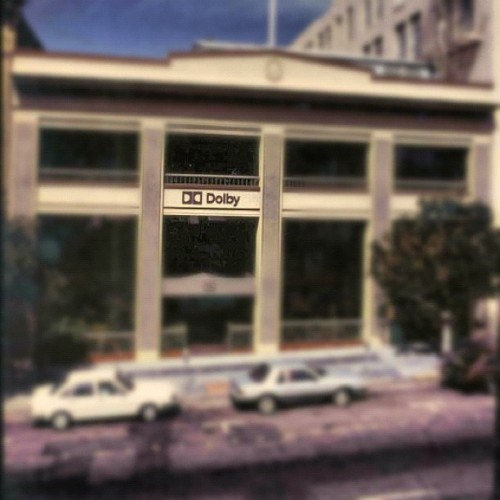 Here's a photo of one of our first San Francisco offices — a younger Dolby! #photoadayapril  (Taken with instagram)