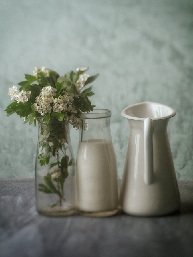 Milk and Flowers