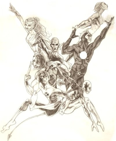 Uncanny X-Men, 2007 by michaelboarts