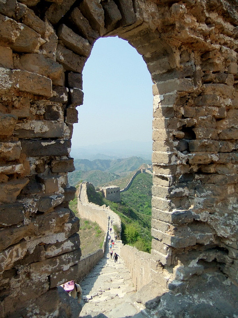 The Great Wall Of China by ronancrowley on Flickr.