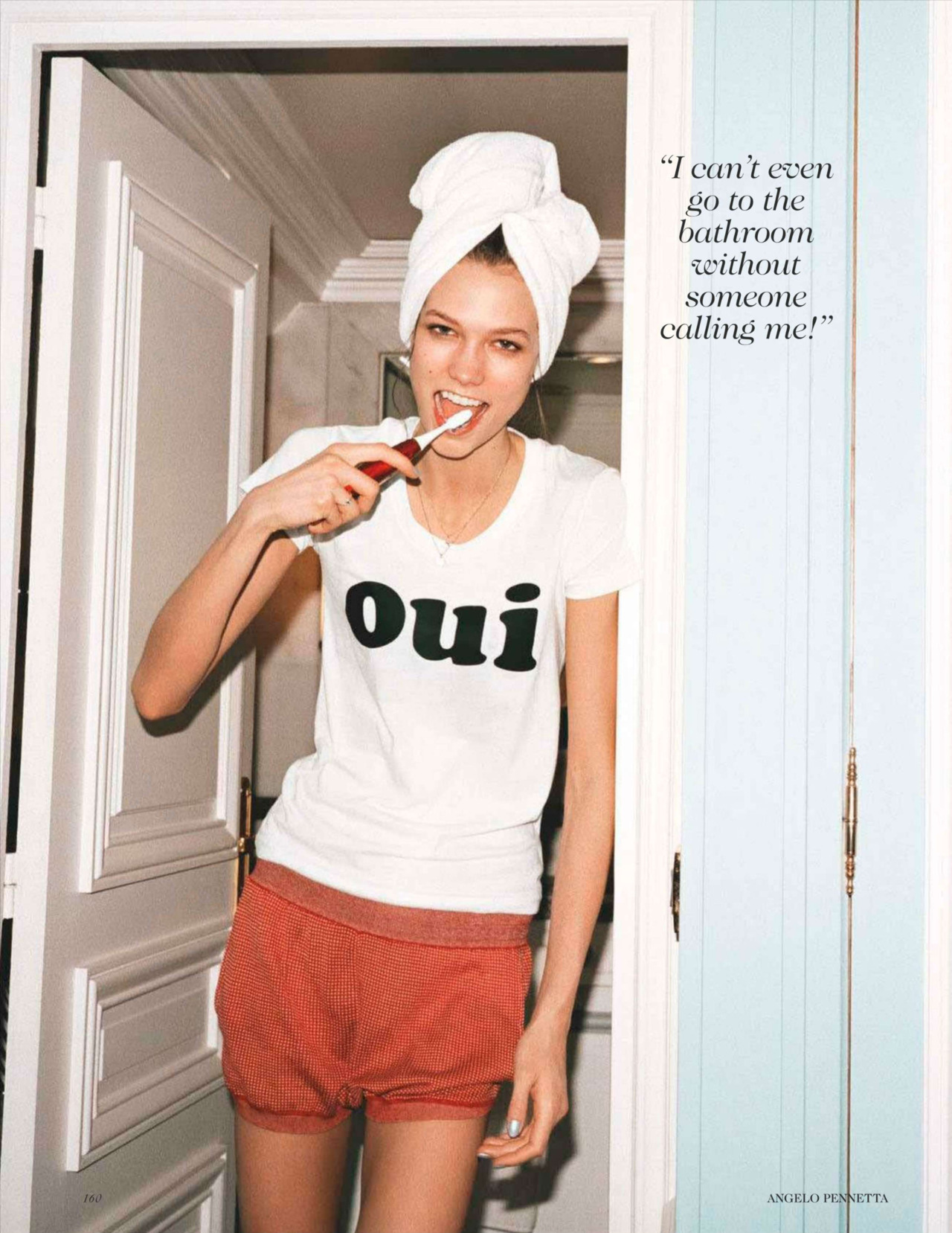 Karlie Kloss: An American In Paris - Vogue UK by Angelo Pennetta, May 2012 You & me both, KK.